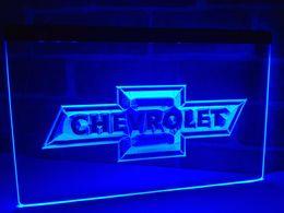 Wholesale Chevrolet Lights - LG033b- CHEVROLET LED Neon Light Sign