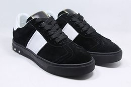 Wholesale Cheap White Men Dressing Shoe - Designer Casual Party Dress Shoes Cheap sneakers men with Spikes fashion casual mens shoes men leisure trainer footwear 38-46