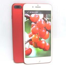 Nuevo Goofón Rojo i7 Plus Quad Core MTK6580 Android 6.0 1GB RAM 128GB 256GB 5.5