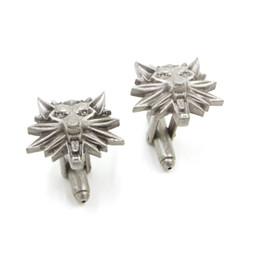2020 gemelli di lupo Fashion Of Old Wolf Wolf Gemelli Procedura guidata Gemelli Wizard Who Medal Gemelli Campo Caccia Gioco all'ingrosso e al dettaglio gemelli di lupo economici