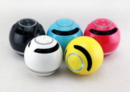Wholesale Manufacturer of hot style yst colorful ball with light bluetooth speaker box outdoor card gift mini speaker box