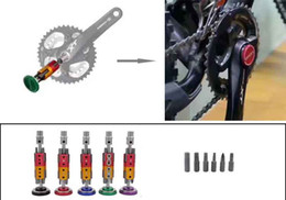 Wholesale Repair Bicycle Chain - 2017 New Hidden Cycling Bicycle Tool Set Bike Multi Repair Tool Kit Wrench Screwdriver Chain Cutter Black Red Blue Green Purple Lightweight