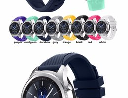Wholesale Sam S3 - DHL free.25pcs.Fashion Sports Silicone Bracelet Strap Band For Sam sung Gear S3 Classic  frontier