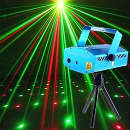Wholesale Strat Green - New Portable multi LED bulb All strat music Laser Stage Lights Lighting Adjustment DJ Party Home Wedding Club Projector