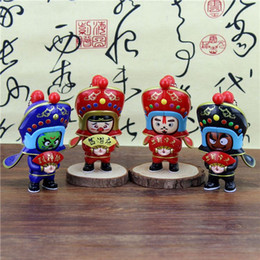 Wholesale Journey Toys - The new creative journey to the West Sichuan Opera Face dolls toys Sichuan tourist souvenirs in Chengdu Three Kingdoms