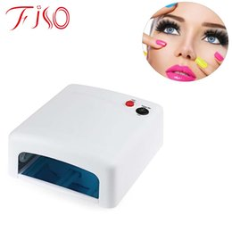 Wholesale Hand For Nail Art Professional - Tools Dryers Professional Gel Nail Dryer High quality 36W UV Lamp 220V Curing Light Nail Art Tools Suitable For Hands
