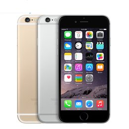 Wholesale Iphone Front Touch Screen - Refurbished Apple Iphone6 4G LTE Smart Phone 4.7Inch IPS Screen 1G RAM 64G ROM IOS10.1 Not Support Touch ID