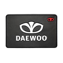 Wholesale Glue For Car Interior - Car-Styling Mat Car Sticker Interior Accessories Emblems Badge Case For Daewoo Logo Winstom Espero Nexia Matiz Lanos Car-Styling