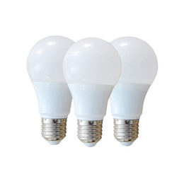 Wholesale E27 Light Bulb Energy Saving - E27 B22 LED Globe Light Bulbs dimmable A60 A19 3w 5w 7w 9w 12w SMD2835 led bulb warm nature cool white energy-saving Lamps