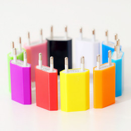 Wholesale Blackberry Cube - Mini EU USA Wall Adapter Home Travel Charger Power Cube 1A USB Wall Charger For Smartphone 4S 5S Samsung Galaxy Note 3 LG HTC Universal