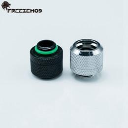 Raccord de tube dur gros OD14mm - raccords de refroidissement à eau FREEZEMOD G1 / 4 '' à conception à corps élevé. YGKN-G14MM ? partir de fabricateur