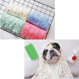 Wholesale Golden Towel - Wholesale- SexeMara Special microfiber large strong suction pet towel golden retriever teddy dog cat a bath towel free shipping 140*70cm