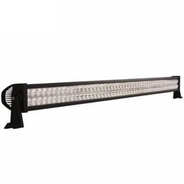 "Wholesale 52 Inch Led Light Bar - 52"" inch 400W Spot Flood Combo LED Work Driving Light Bar for Car Off-road 4X4 Truck Boat Jeep Ford Trailer 4WD SUV Fog Roof Lamp 12V 24V"