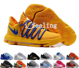 Wholesale Kd Low Cut Shoe - New KD 10 X Men Basketball Shoes Homme White Tennis BHM Oreo Zoom Kevin Durant KD10 10s Kds Elite Floral Aunt Pearls Easter Sports Sneakers
