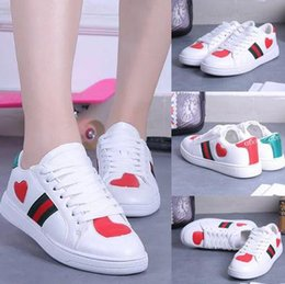 Wholesale Small Size Shoes Women - Hot Sell Women Small White Shoes PU Leather Lace UP Fashion Shoes Outdoor Women Casual Zapatillas Walking Shoes Size 36-40