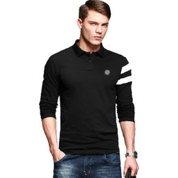 Wholesale Long Sleeve Polo Style Shirts - World Famous Brand Men Polo Shirt Stone brand Spring Autumn Winter Long Sleeve Island T-shirt Clothing Men's Tees & Polos