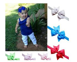Wholesale Stunning Baby - Stunning Kids Girl Baby Headband Toddler Lace Bow Flower Hair Band Accessories Headwear