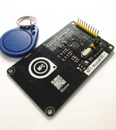 Wholesale Nfc Key - IKEYES N1 Arduino DIY 13.56MHz NFC RFID Module PN532 Development Board wIth PCB Antenna Cipher Key Compatible with arduino