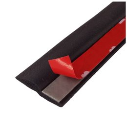 Wholesale Door Window Rubber Seal Strips - NEW Black Car Weatherstrip 4M Z-shape Window Door Rubber Seal Weather Strip Hollow Free shipping