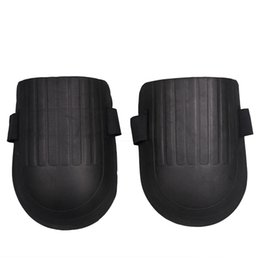 Wholesale foam knee pads - Wholesale- 1pair Soft Foam Knee Pads Protectors Cushion Support Cycling Knee Protector Sport Gardening Builder