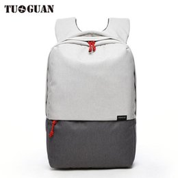 Wholesale Male Computer Backpacks - TUGUAN 2017 Brand Men's Backpacks USB Charging Bolsa Mochila for Laptop 14-15 Inch Notebook Computer Bags Male Backpack School