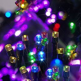 powered 10m 12m 22m led panel fairy string light lamp xmas party wedding garden decor from suppliers