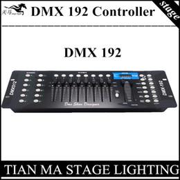 Wholesale Dmx Controller Console - Wholesale- 192 DMX controller stage lights DMX 192 console professional DJ controller