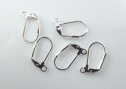 Wholesale Lever Back Wires - Free shipping !17*10mm Lever Back Earring Wires.