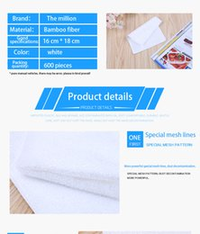 Wholesale Household Dish Cloths - Multi-function washing wipes kitchen supplies thick bamboo fiber washing dish cloth double non-stick oil easy to clean household products