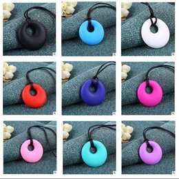 Wholesale Necklace Beads For Baby - Silicone Necklace Mom Baby Chewable Silicone Beads For Jewelry BPA Free Baby Chewable Silicone Necklace DHL Free Shipping