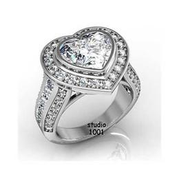 Wholesale Natural Diamond Ring Ct - 5 Ct Natural J SI2 Diamond Diamond Engagement Ring Heart Shaped Non Treated GIA
