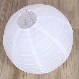 Wholesale Free Chinese Lantern - Free shipping 20 inch 50cm Round Chinese Paper Lantern for Birthday Wedding Party Decoration gift craft DIY Free Shipping