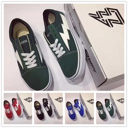 Wholesale Mens High Black Boots Fashion - Revenge X Storm Old Skool Mens and Womens Fashion Training Sneakers High Quality Laced Up Shoes with Box Four Colors Wholesales