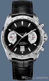 Wholesale Man Calibre 17 - hot sale men watches Calibre 17 Automatic Leather band wrist watch for men T07