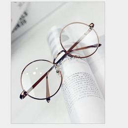 Wholesale Eyeglass Frames For Girls - OT-28 Women girl Glasses Frame Round shape Metal Optical Frame For Girl cute eyeglass frame free shipping!