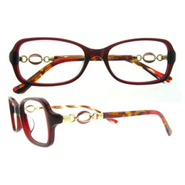 Wholesale Decoration Jewels - Office Lady New oval light weight solid delicated gold and jewel decoration women stylish fashionable eyeglasses frame