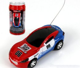 Wholesale Micro Racer Toy - New Free Shiping Epacket 8 color Mini-Racer Remote Control Car Coke Can Mini RC Radio Remote Control Micro Racing 1:64 Car 8803