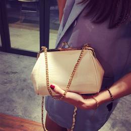 Toptan-Timsah zincir klip çanta için 2016 moda kabuk mini kadın çanta messenger omuz çantası w-568 supplier crocodile clip wholesale nereden timsah klip toptan tedarikçiler