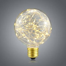 Wholesale Design Vintage Bulbs - Wholesale- 1Pcs E27 AC 110V-240V Multi-Color LED Night light Vintage Design Fairy RGB Filament LED Lamp Bulb for Indoor Decor lighting