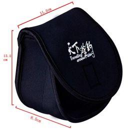 Wholesale Reel Covers - Reel Bag 11.5*13.5*8.5cm Neoprene Fishing Protective Case Reel Cover Bolsos Para Pesca Bolsa