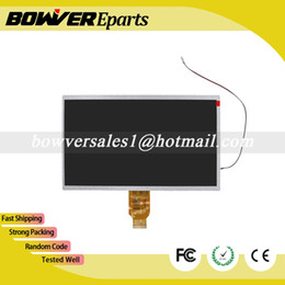 Wholesale Second Hand Parts - Wholesale- A+ Second hand with backlight cable WCD-400B010 H-H10118FPC-C1 YH101IF40-A SL101DH01FPC-V0 LCD Display Panel Replacement Parts