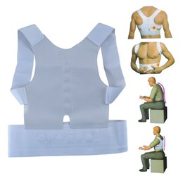 92c37c8049cf3 Humpback Band For Men And Women With Orthodontic Body Blouse Magnetic Back  Support Corrector Belt Brace Shoulder Sport Safety 4 9yc F