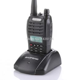 Wholesale Earpieces Vhf Radio - Wholesale- BaoFeng UV-B6 Two Way Radio Dual Band Walkie Talkie 136-174MHz&400-470 MHz Ham Amateur Radios VHF UHF +free earpiece