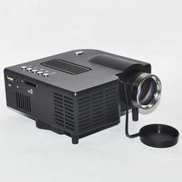 av ports tv Promotion Vente en gros- JEDX UC28 + Projecteur jeux vidéo numériques TV Movie Home Port HDMI VGA AV lu disque U, disque dur mobile, carte SD, livraison gratuite VGA