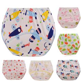 Wholesale Wholesale Diaper Kid - 2017 infant cartoon Diapers Cover Cloth cotton Breathable Reusable baby Diaper Covers pants kids Bread pants C1890