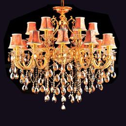 Longs lustres contemporains en Ligne-long lustre en cristal grande salle lustre décoratif contemporain moderne lustres maître chambre conduit salon hôtel lustre en cristal