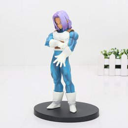 Wholesale Model Figures - 17cm Dragon Ball Z Resolution of Soldiers Volume 5 Trunks PVC Action Figure Toys Figures action Toys kids toys collection model