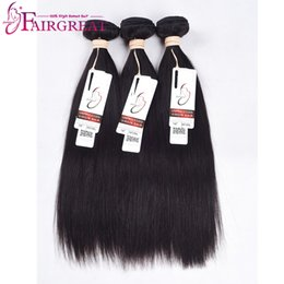 Wholesale Lasting Hair Color - Straight Human Hair Soft Thick Brazilian Natural Color Unprocessed NO Shedding NO Tangle Can Last Long Life Straight Good Quality Human Hair