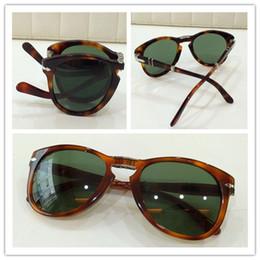 Wholesale High Quality Plank Sunglasses - Brand Sunglasses-2017 high quality PERSOL 714 fashion brand design polarized women men sunglasses gafas de sol mujer hombre oculos de sol