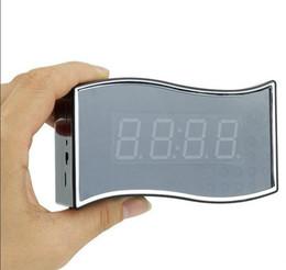Wholesale Live Hidden Cameras - 1080P Wifi Camera Clock RJ45 Clock Hidden Camera With Night Vision Motion Detector Wireless Security Cam P2P Wi-fi Live 160° APP Remote View